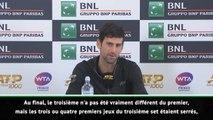 "Rome - Djokovic : ""Nadal était trop fort aujourd'hui"""