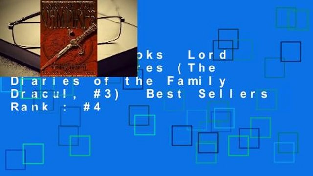 About For Books  Lord of the Vampires (The Diaries of the Family Dracul, #3)  Best Sellers Rank : #4