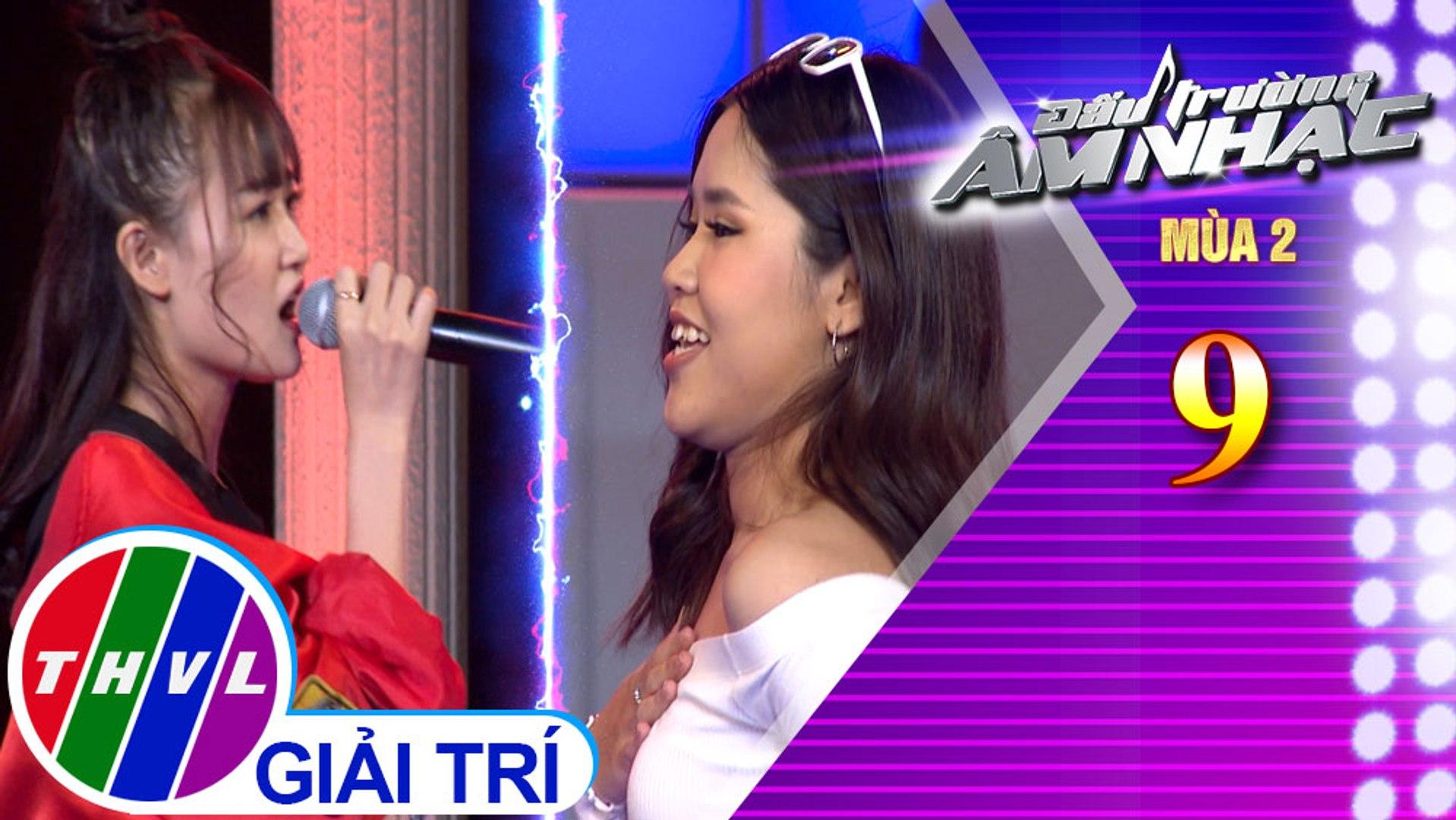 THVL   Đấu trường âm nhạc Mùa 2 - Tập 9[6]: Tình Yêu Màu Nắng - Bonie Nguyễn, Thảo Phạm