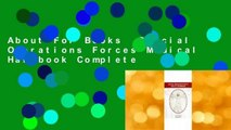 About For Books  Special Operations Forces Medical Handbook Complete