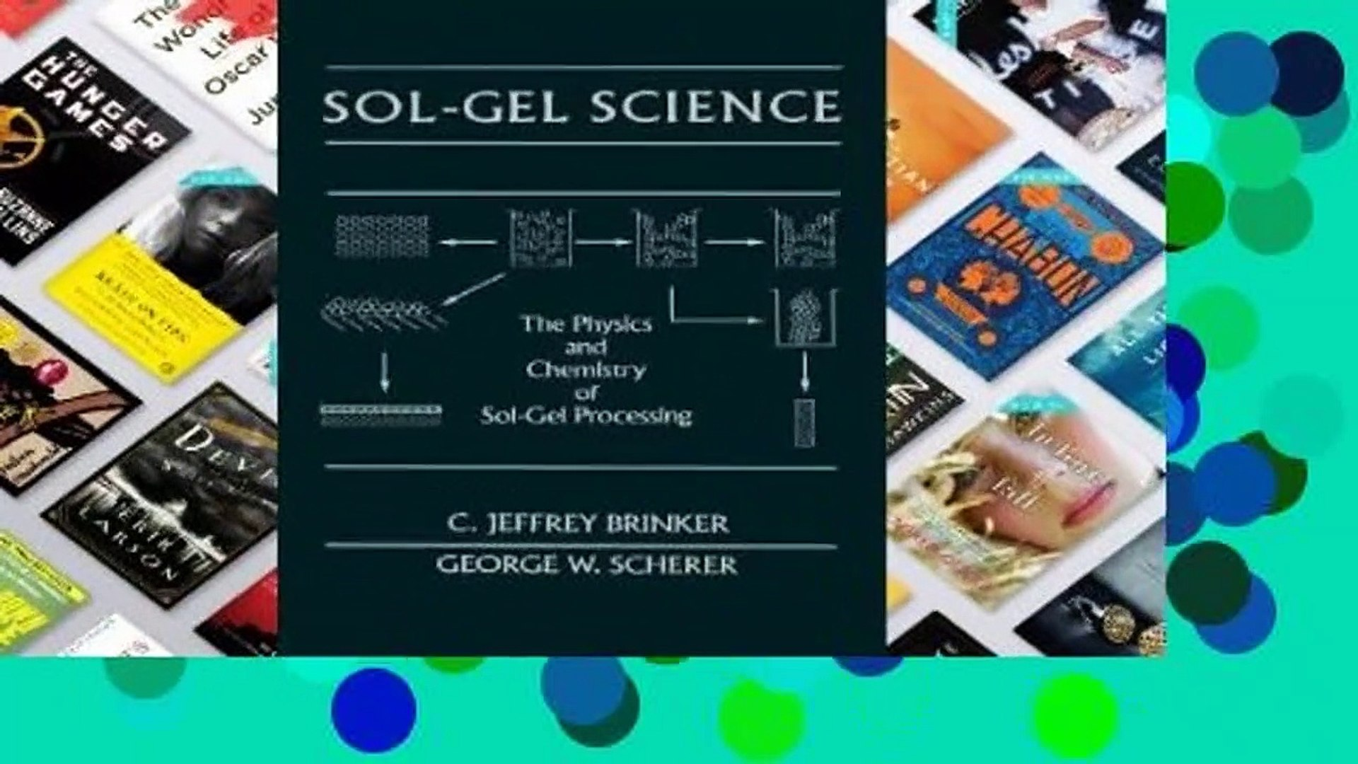 Library  Sol-Gel Science: The Physics and Chemistry of Sol-Gel Processing - C. Jeffrey Brinker