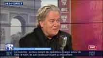"""Steve Bannon, ex-conseiller de Donald Trump est à Paris """"en tant qu'observateur"""""""