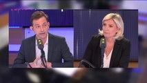 """Autriche """"On ne peut pas ne pas condamner cette attitude. On est confrontés là à la faute d'un homme qui est une faute lourde"""" affirme Marine Le Pen. """"Le questionnement que nous avons, c'est que cette vidéo a deux ans"""""""