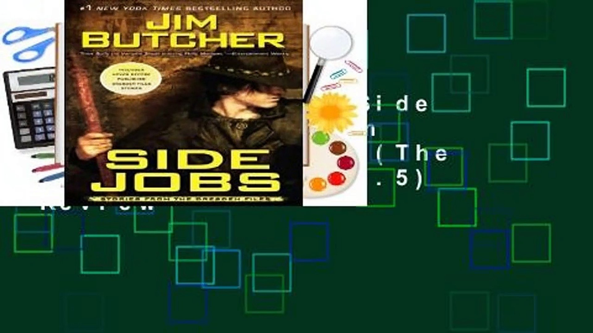 Side Jobs (The Dresden Files, Book 12.5)