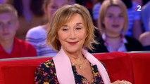 Mathilde Seigner raconte ses soirées folles (et alcoolisées) avec... François-Xavier Demaison ! Regardez