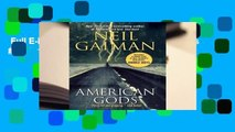 Full E-book  American Gods (American Gods #1)  For Kindle