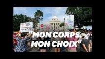 Avortement: Des centaines de manifestants ont défendu le droit à l'IVG en Alabama