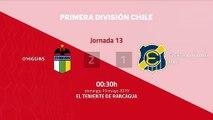 Resumen partido entre O'Higgins y Everton Viña del Mar Jornada 13 Primera Chile