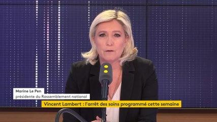 Marine Le Pen - Franceinfo lundi 20 mai 2019