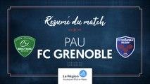 Pau - Grenoble : le résumé vidéo