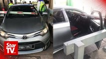Driver rams car into toll gate barrier in Butterworth