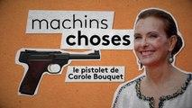 Carole Bouquet dans la collection Machins Choses