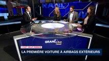 """Voitures à Airbags extérieurs/Airbags à moto """"C'est déjà demain"""" i24NEWS 8/10"""