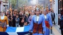 Λαμπαδηφορία στη Λιβαδειά για τα 100 χρόνια από τη Γενοκτονία των Ελλήνων του Πόντου