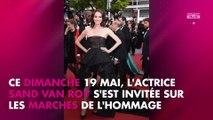 Cannes 2019 - Sand Van Roy : son message fort contre les violences faites aux femmes