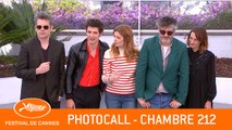 CHAMBRE 212  - Photocall - Cannes 2019 - VO