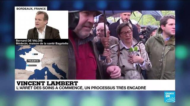 """Vincent Lambert : """"On n'arrête pas les traitements mais l'acharnement thérapeutique"""""""