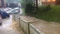 Las lluvias dejan más de cien litros por metro cuadrado en algunas zonas de Guipúzcoa