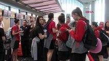 Spor A Milli Kadın Basketbol Takımı, Slovenya'ya Gitti