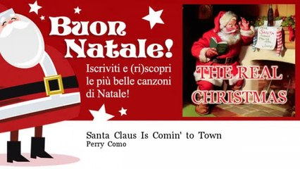 Perry Como - Santa Claus Is Comin' to Town