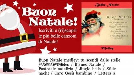 Raibow Cartoon - Buon Natale medley: tu scendi dalle stelle / Adeste fideles / Bianco Natale / Pasto
