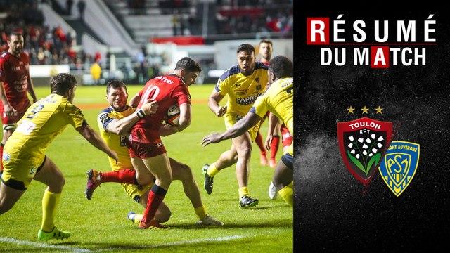Résumé Toulon/Clermont TOP14 J25