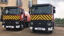 Les pompiers du Calvados dotés de 4 nouveaux camions citernes