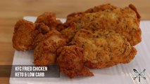 Keto 'KFC Style' Fried Chicken Recipe  All Protein Low Carb!