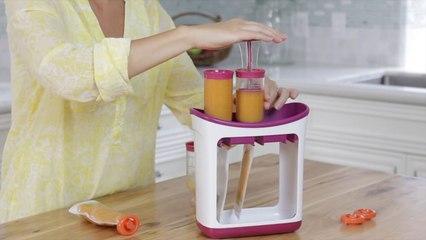 Do-It-Yourself Fresh Homemade Baby Food Storage