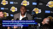 Magic Johnson Says He Was Betrayed By Lakers GM Rob Pelinka