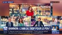 Steve Bannon: L'ami de trop pour Marine Le Pen ?