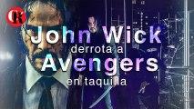 John Wick derrota a Avengers  en taquilla