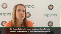 Federer's decision making makes him the greatest - Henin