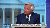 DOJ, FCC Split Over Sprint, T-Mobile Deal