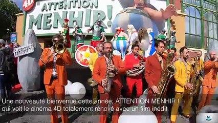 Le Parc Asterix, le Futuroscope et Disneyland Paris font leur rentrée