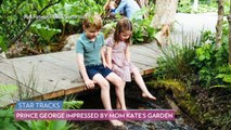Prince George Has the Perfect Response When Prince William Asks Him to Rate Mom Kate's Garden