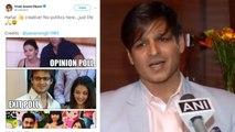 Vivek Oberoi refuses to apologise Aishwarya Rai Bachchan & Salman Khan; Watch video | FilmiBeat