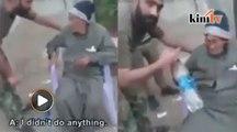Askar rejim Assad kasari warga emas