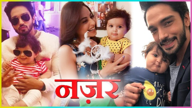 Ansh & Pia's Baby Off Screen CUTEST Moments | Nazar