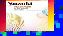 R E A D Suzuki Viola School, Vol 1: Viola Part D O W N L O A D