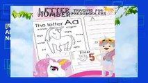 [Read] Letter Number Tracing for Preschoolers: Alphabets Handwriting Practice with Number 0-9