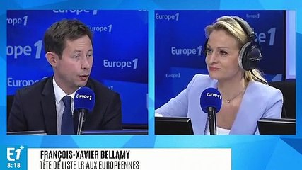 François-Xavier Bellamy - Europe 1 mardi 21 mai 2019