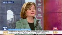 """Nathalie Loiseau (LaREM) estime qu'Angela Merkel est dans un rythme politique """"trop lent"""" pour les enjeux européens"""