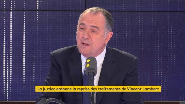 """Reprise des traitements de Vincent Lambert : """"C'est la faillite de la loi Clayes-Leonetti"""" (Guillaume)"""