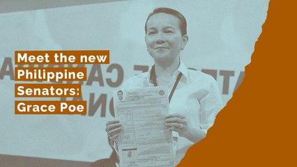 Meet the new Philippine Senators: Grace Poe