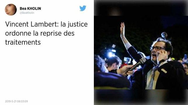 Vincent Lambert. La cour d'appel de Paris ordonne la reprise des traitements