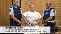 Man accused of Christchurch mosque attacks faces terrorism charge