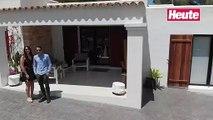 """""""Heute""""-Reporter Amra Duric und Clemens Oistric bei der Skandal-Villa auf Ibiza"""