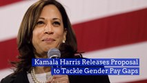 Kamala Harris Goes After Gender Pay Gaps