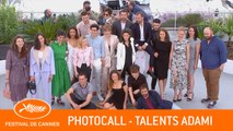 TALENTS ADAMI - Photocall - Cannes 2019 - VF